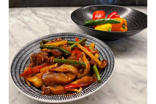 HONEY SOY CHICKEN STIR-FRY 500GM