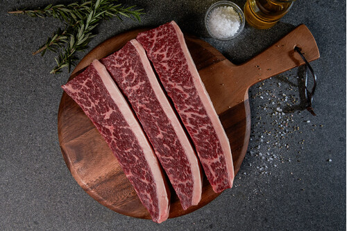 SANCHOKU WAGYU MB 4/5 PICANHA STEAK 300GM