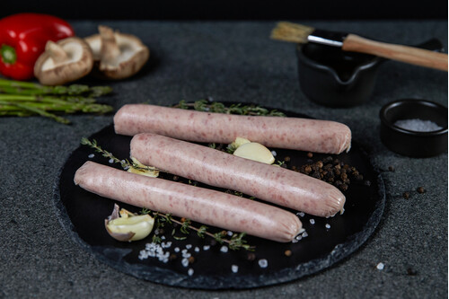 THIN BBQ PORK SAUSAGES 500G